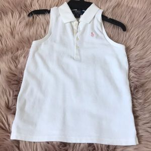 Polo shirt for girls